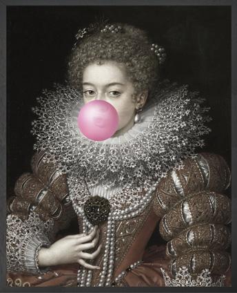 Bubblegum Portrait 3